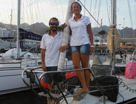 couple sur voilier