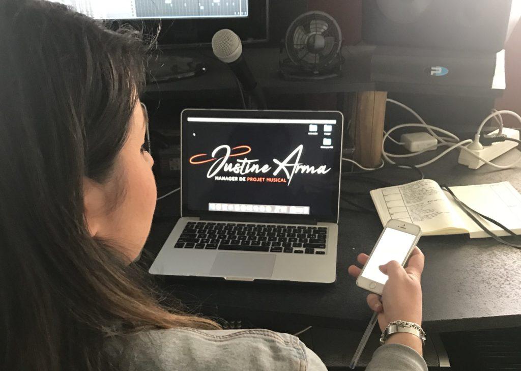 Justine est entrepreneure dans le Musical Branding