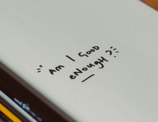 Cahier avec inscription