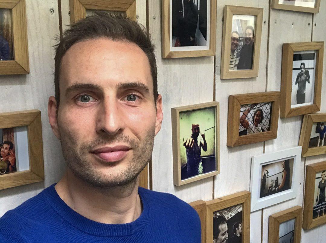 Nicolas, ancien boxeur professionnel est aujourd'hui entrepreneur