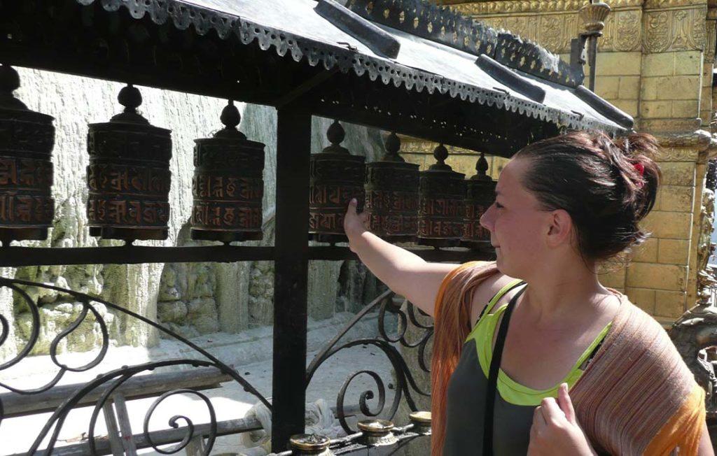 Laureline conseillère en communication lors de son voyage