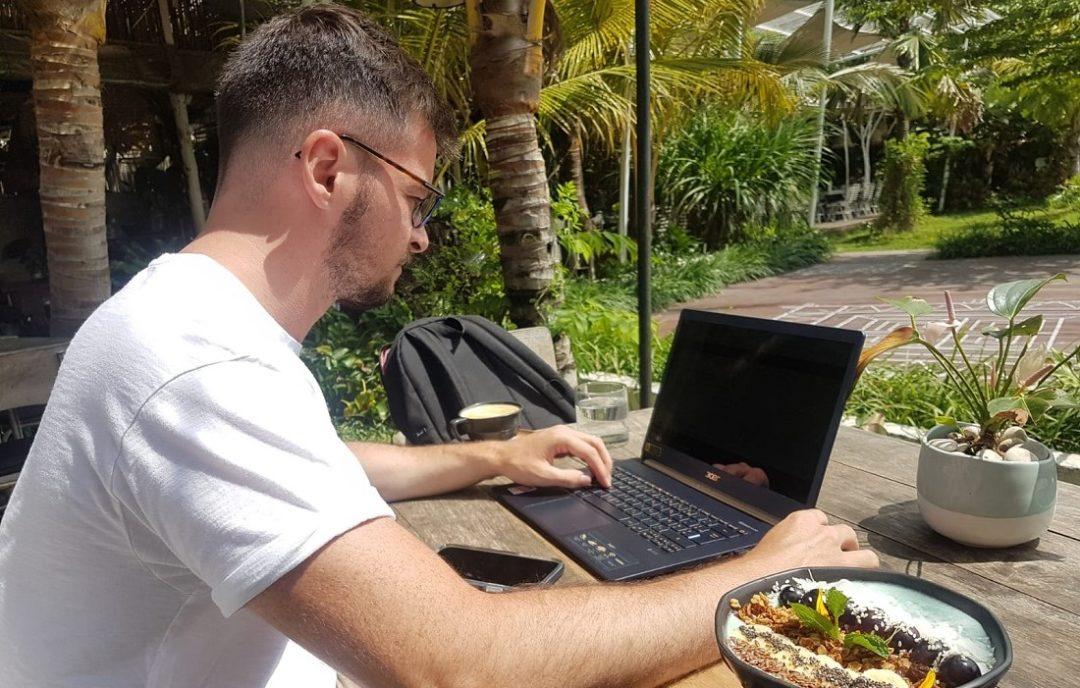 Maxime est devenu blogueur professionnel
